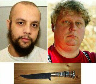 Carrying a large and a small knife, Mohammed Bouyeri assassinated Theo Van Gogh in the early morning of 2 November 2004, in Amsterdam